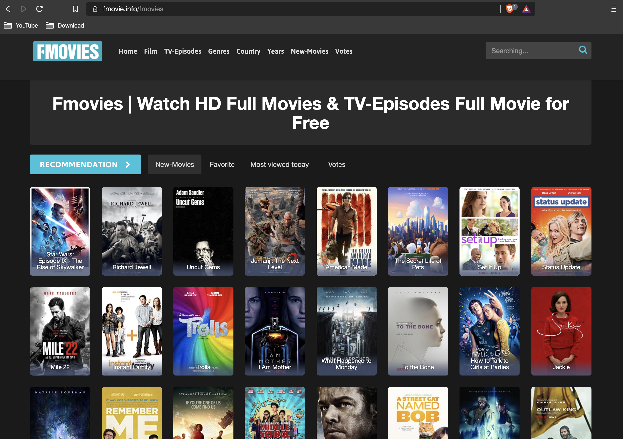 Best Website To Watch Movie/TV Shows without Spending a Dime! | by Few  Steps | Medium