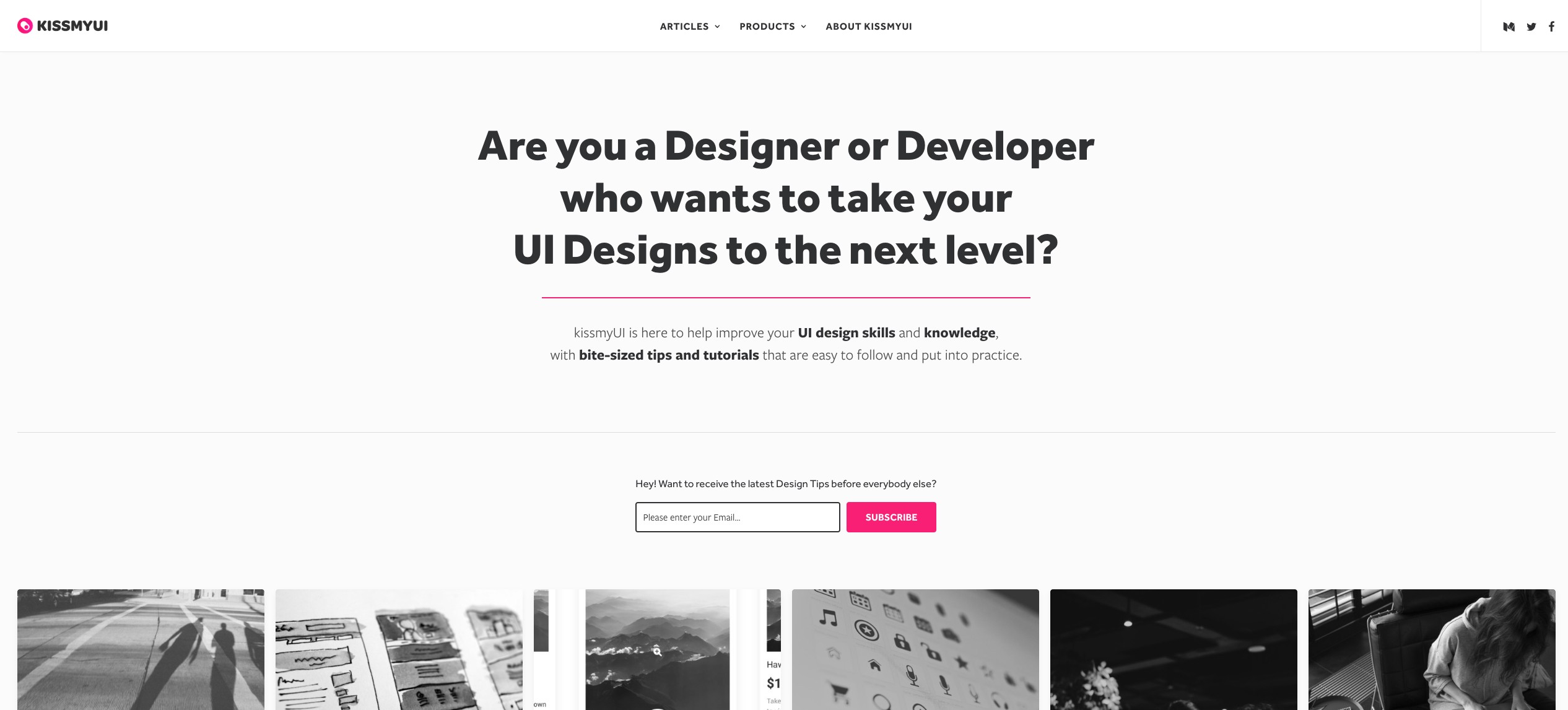 Want To Discover The Very Best Bite Sized Ui Ux Design Tips By Marc Andrew Prototypr