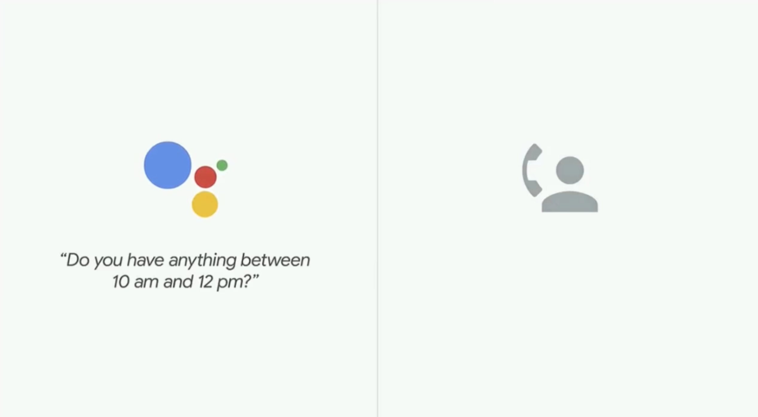 Google Duplex Demonstrates Natural Sounding Voice - Becoming