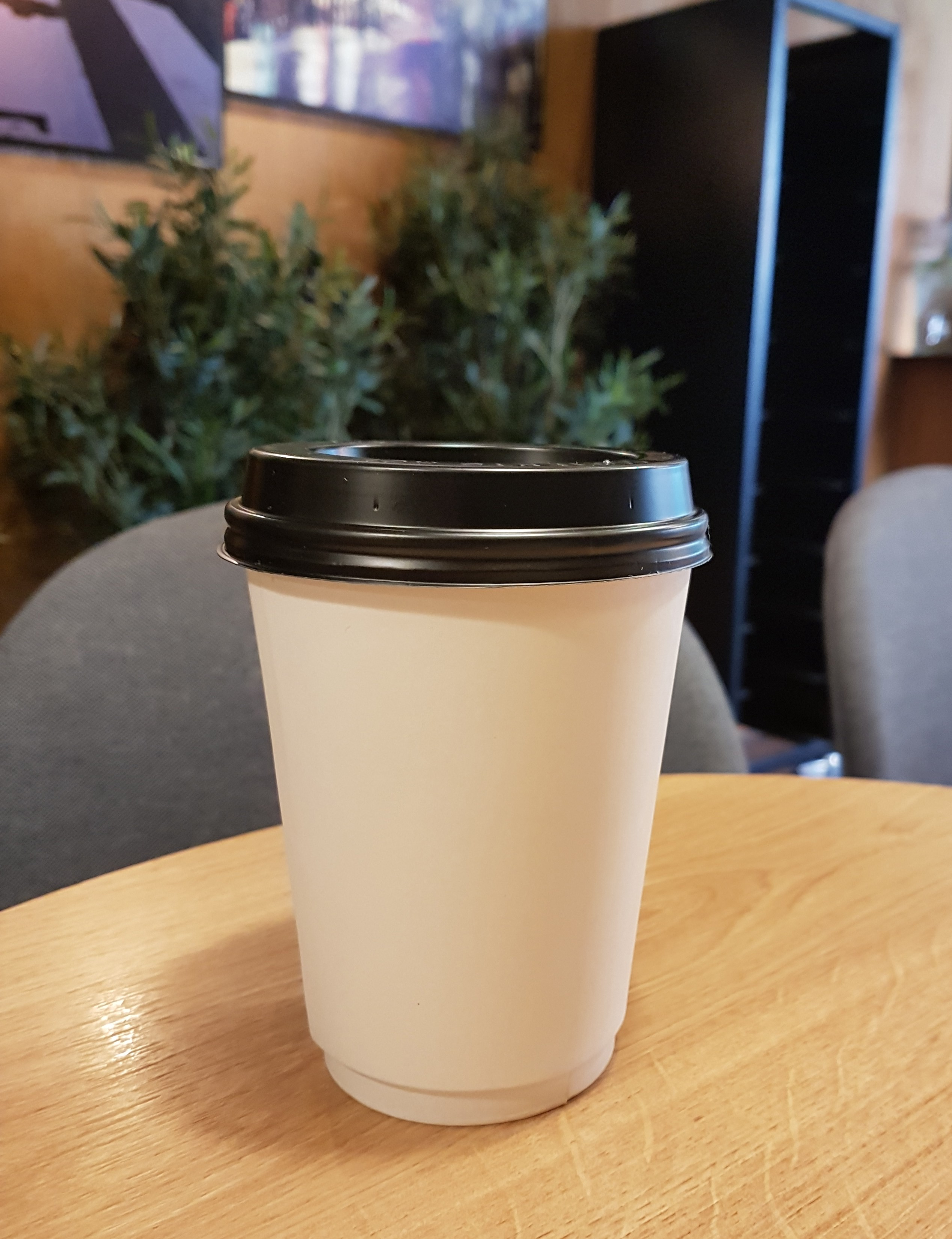 Disposable Coffee Cup Challenge