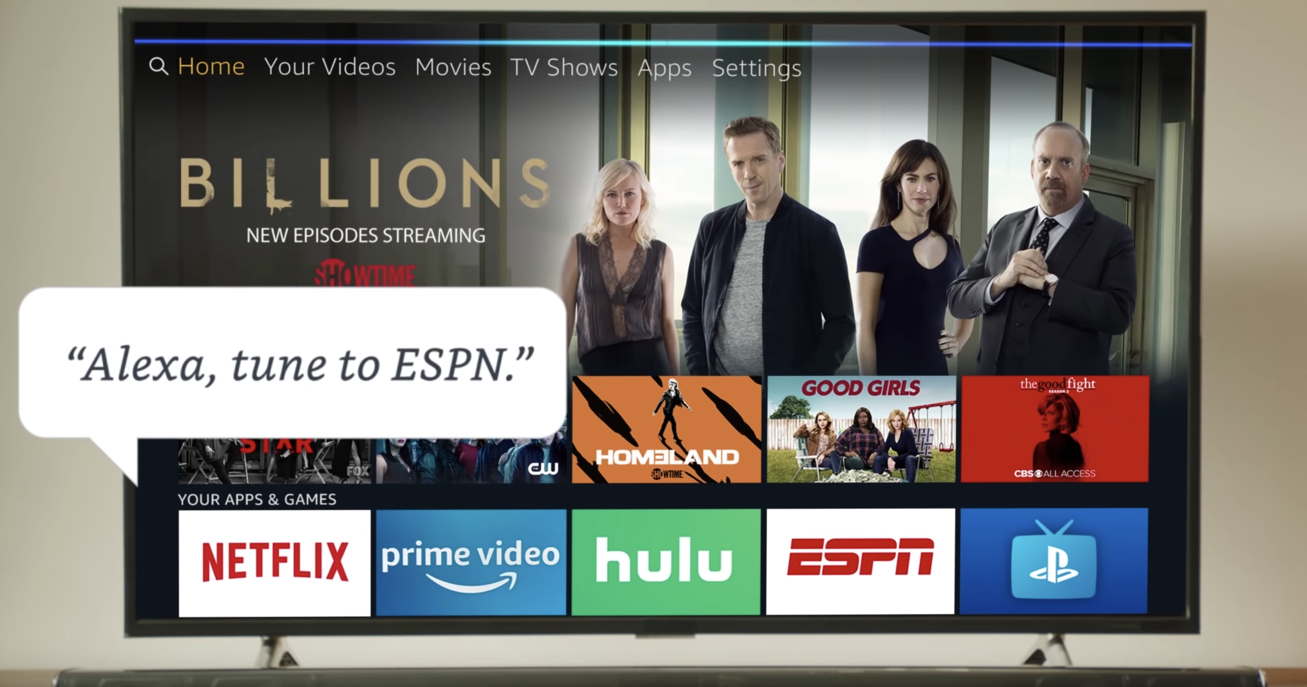 PlayStation Vue makes Live TV easy on Fire TV - Amazon Fire TV