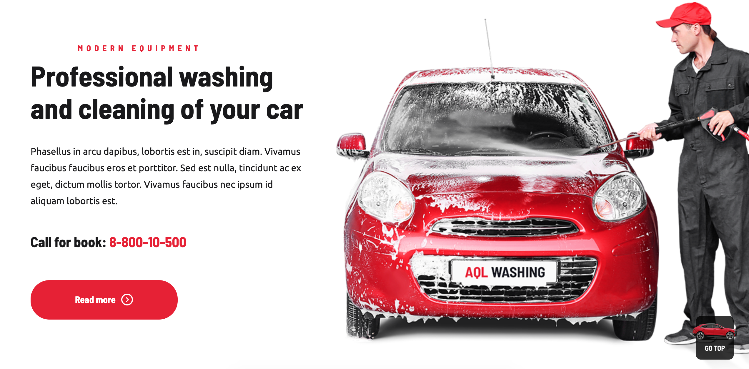 Top 6 Car Wash Wordpress Themes The Automotive Industry Has Has By Andrea Aligato Best Themes Mag Medium