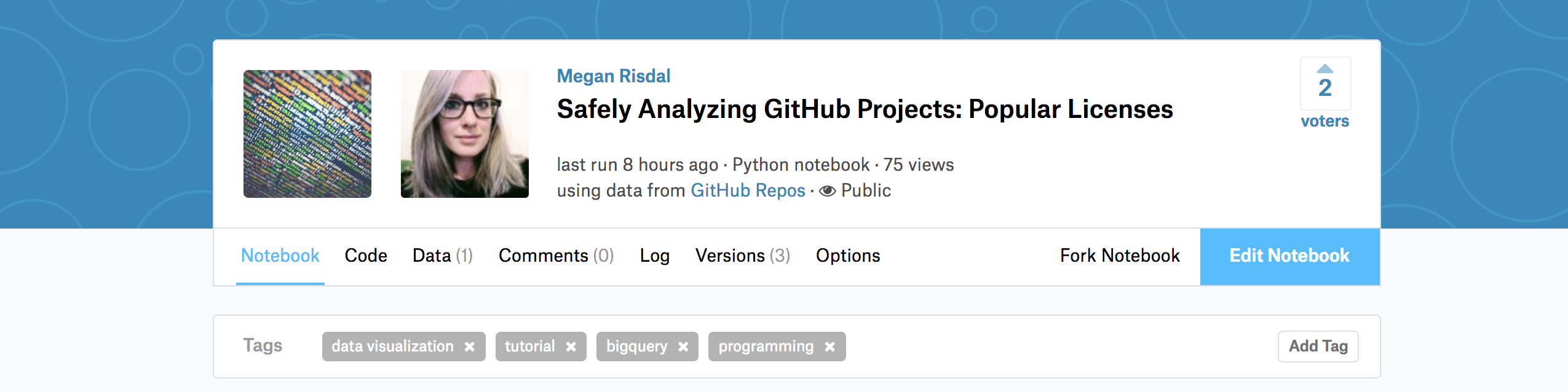 Learning to analyze huge BigQuery datasets using Python on