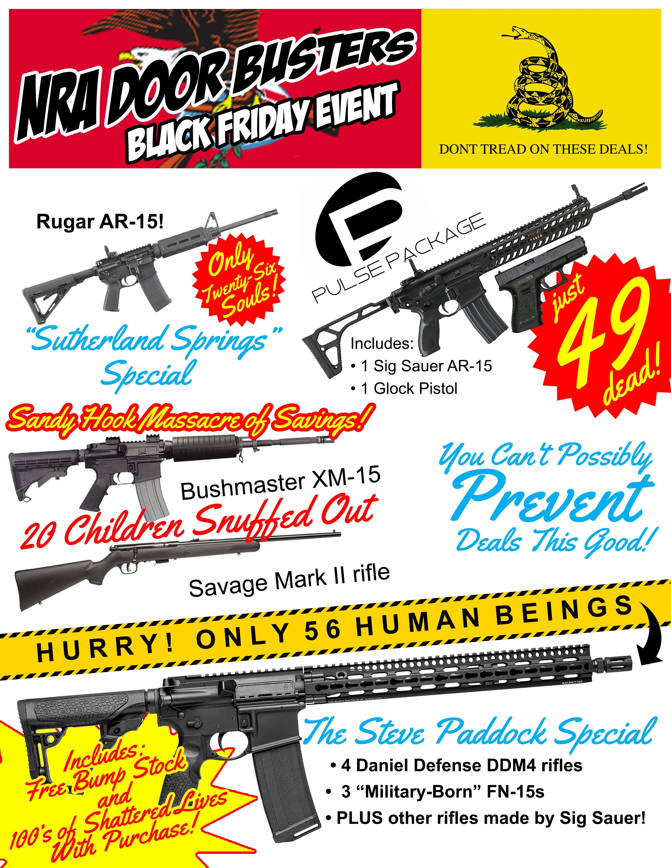 Shopping For Firearms The Nra Black Friday Ad Is A Must See By Jeremy Burnich Medium