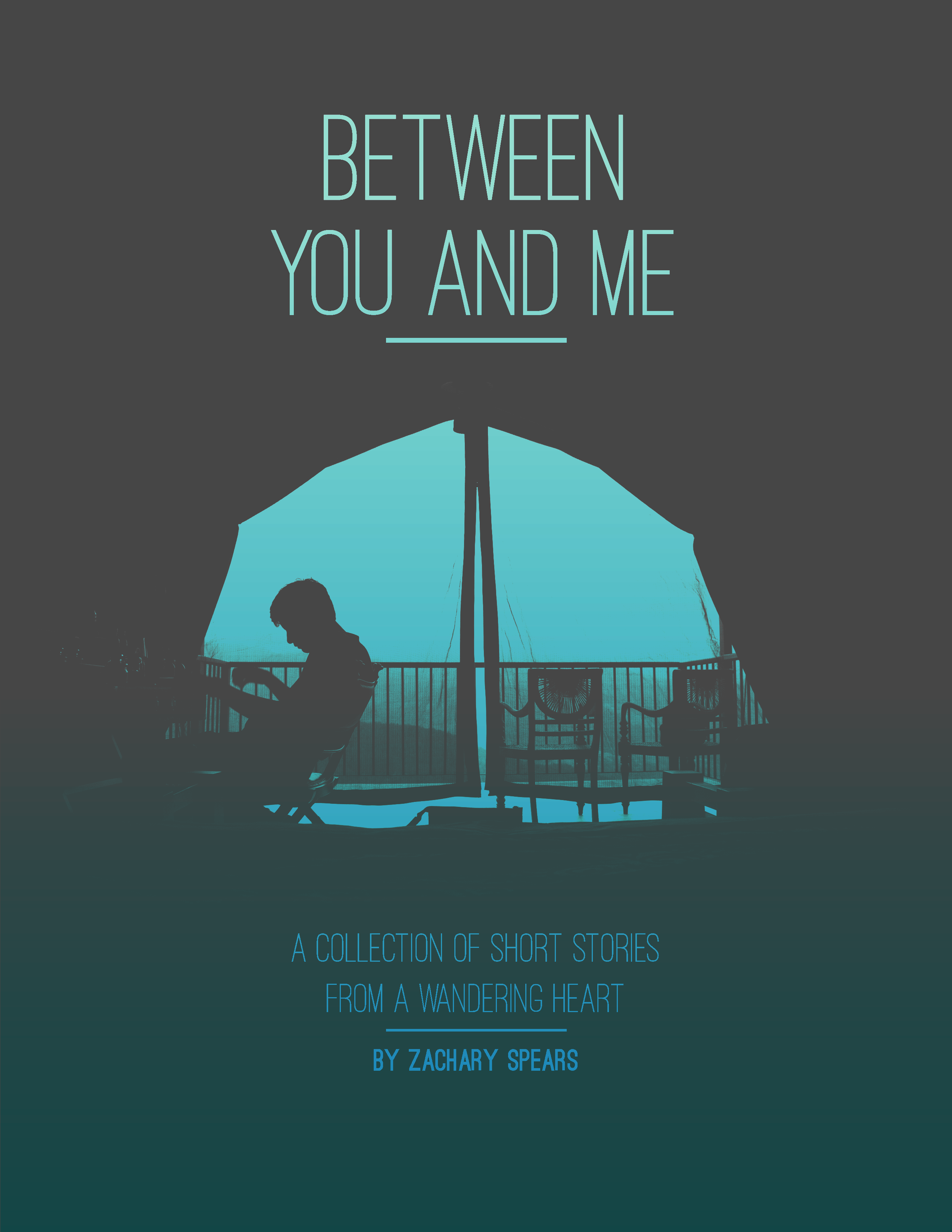 Between You and Me Book Cover Design