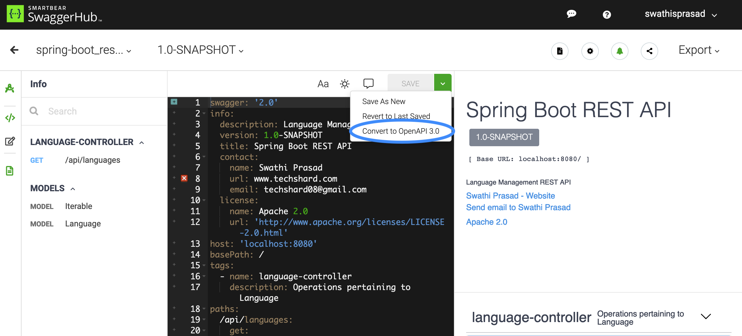 Generating and Consuming REST APIs with Spring Boot 2