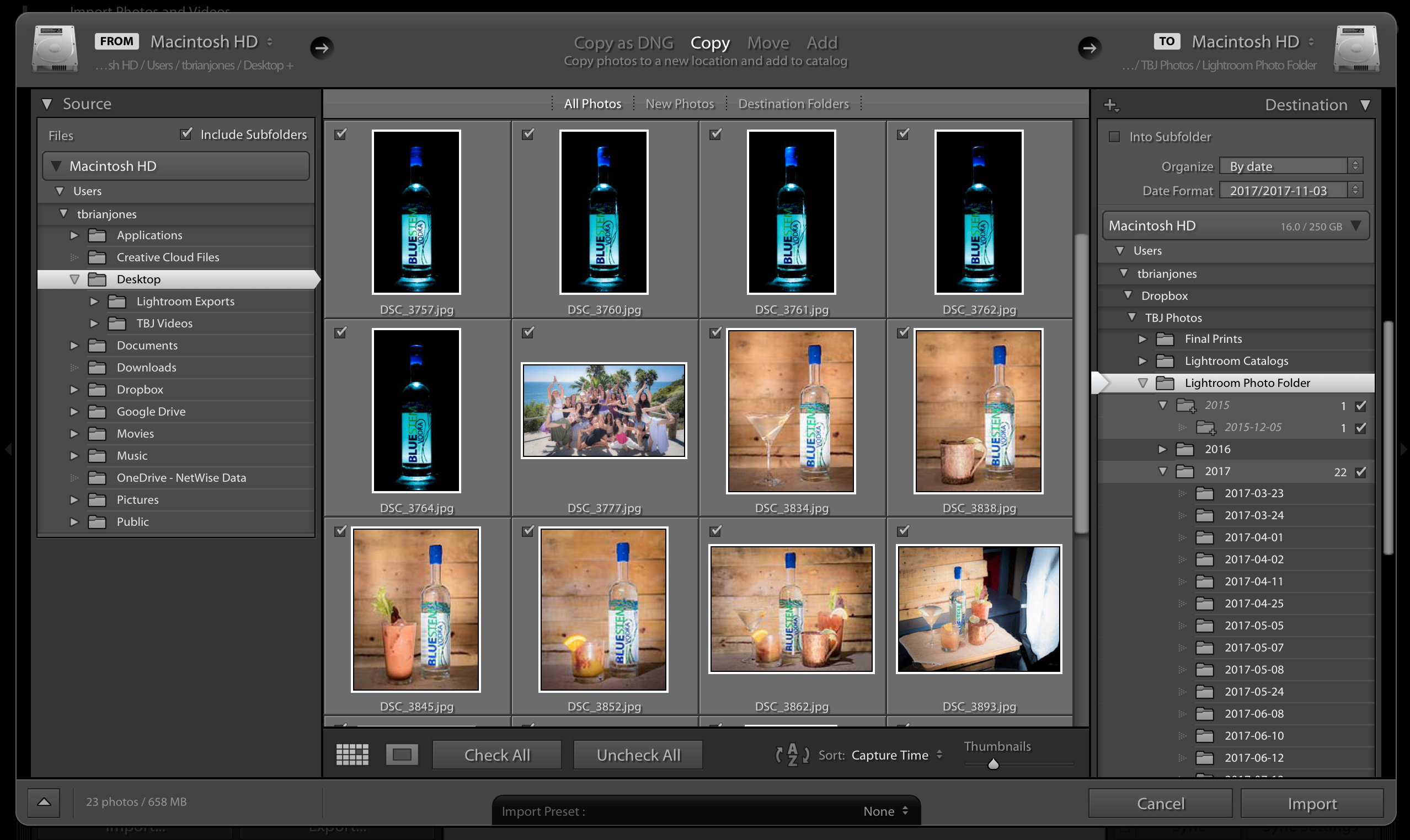 Using Lightroom CC Classic with Dropbox for a Great Cloud
