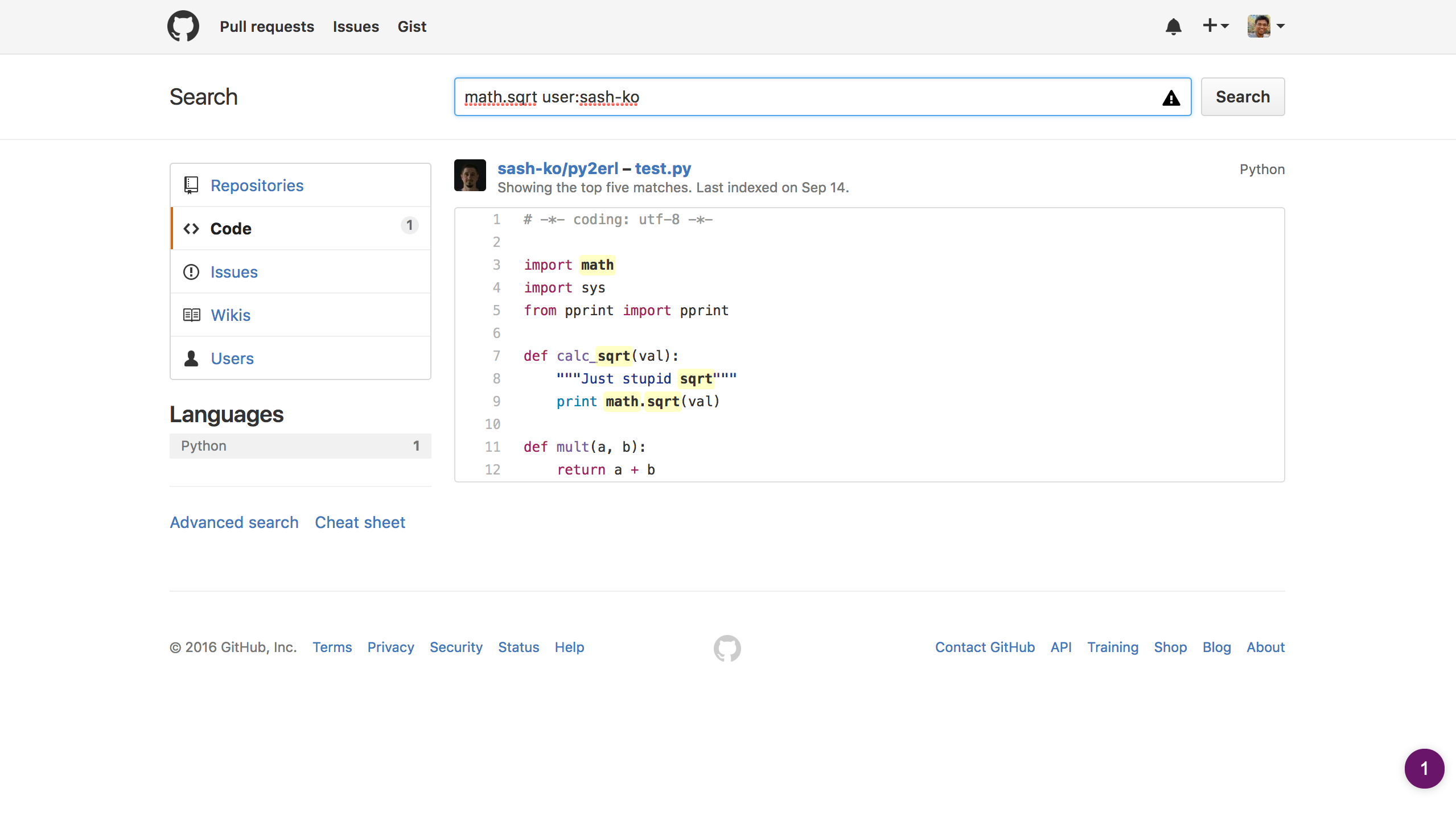 How to source/find software developers/programmers on Github