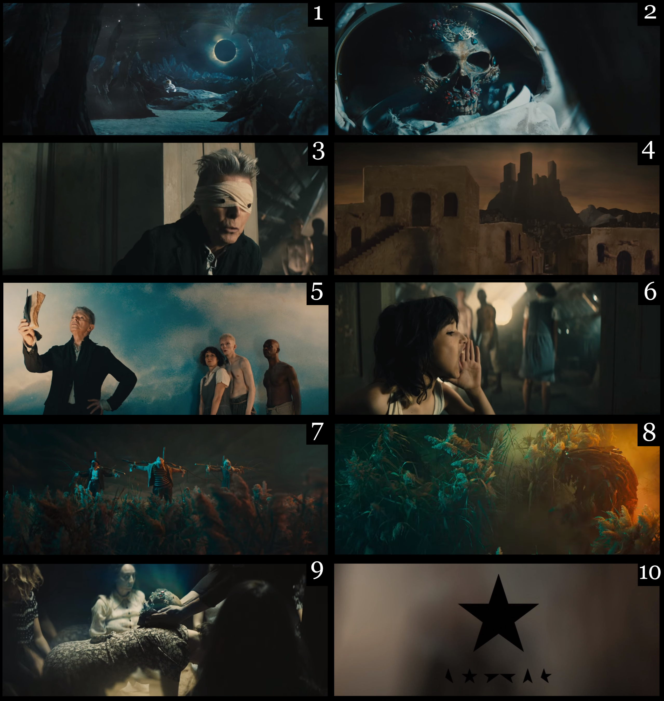 """David Bowie's """"Blackstar"""" — Track and Music Video Analysis"""