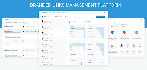 rebrandly link management platform