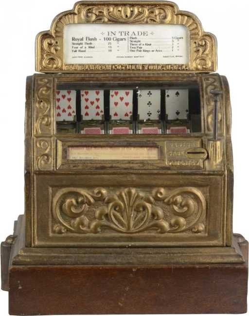 First Slot Machine Ever Made