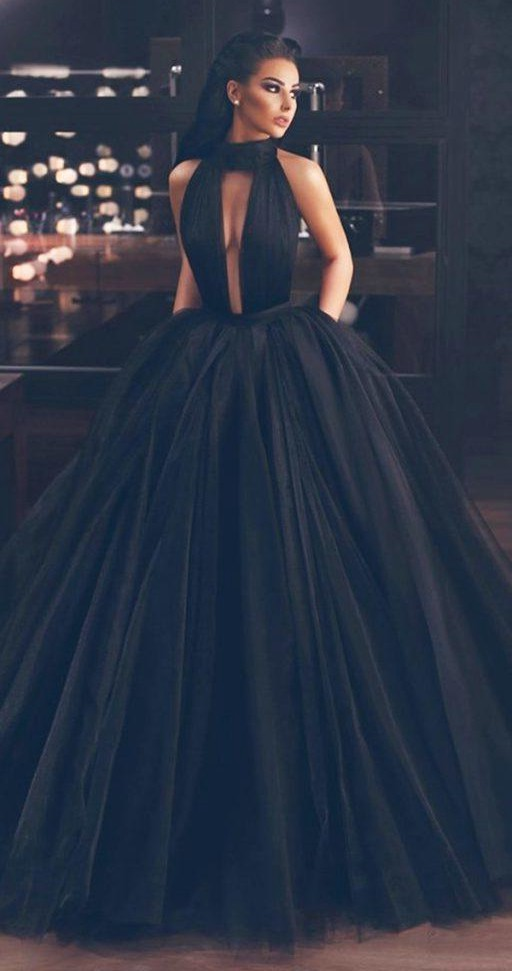 Black Wedding Dresses Are Elegant And Chic!  by Jennifer BW  Medium