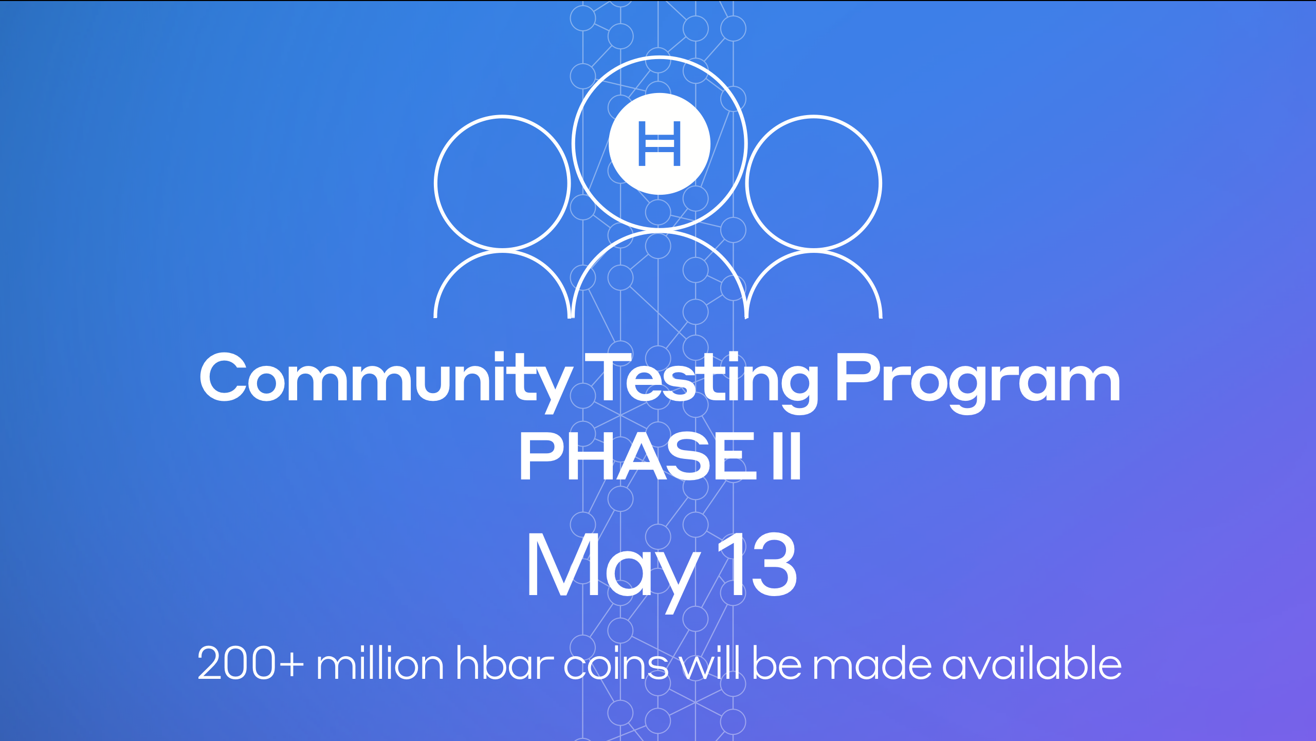 Hedera Hashgraph to Launch Phase II of Community Testing Program