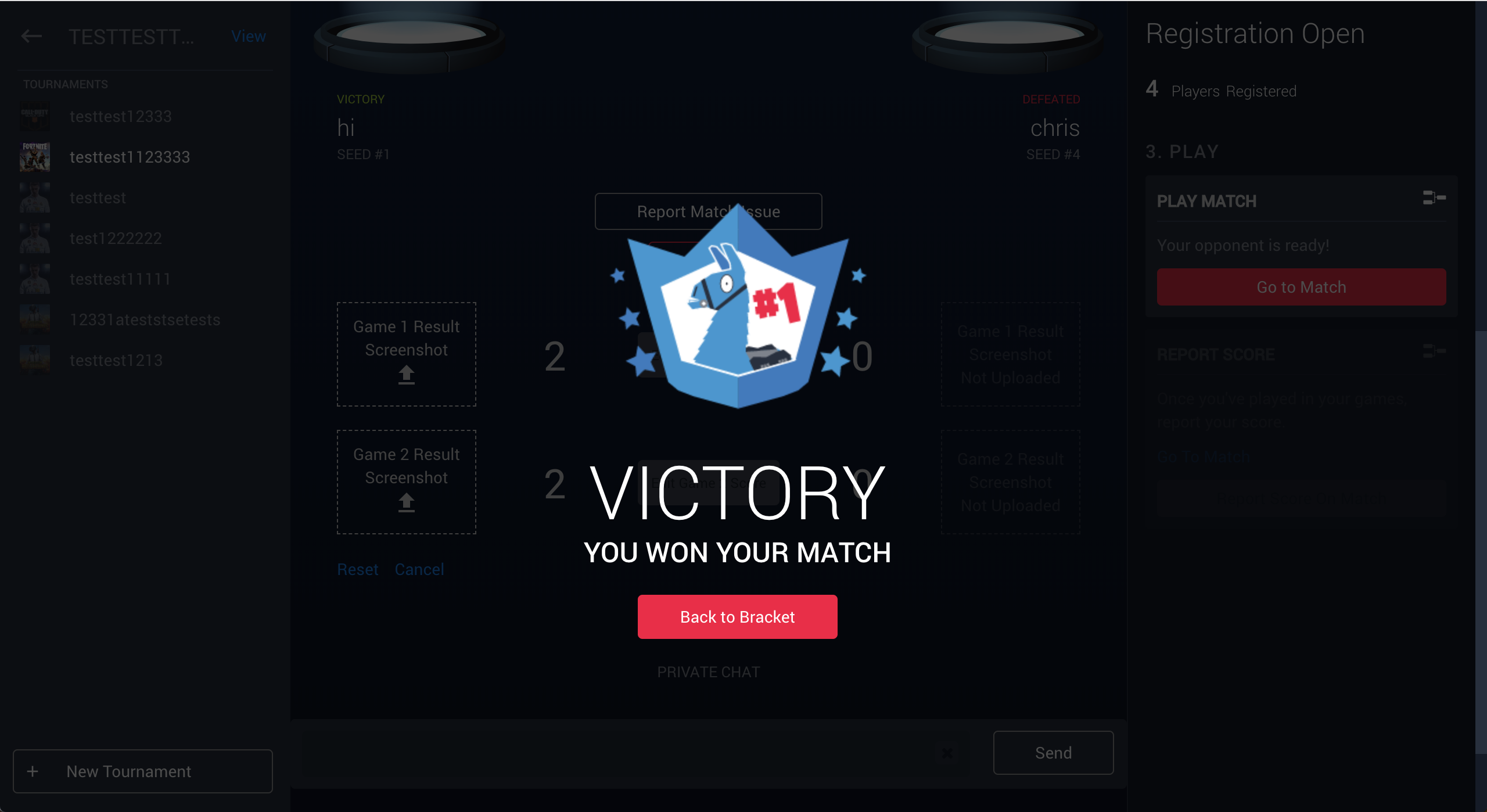 Using Brackets with Cumulative Score Reporting on Battlefy
