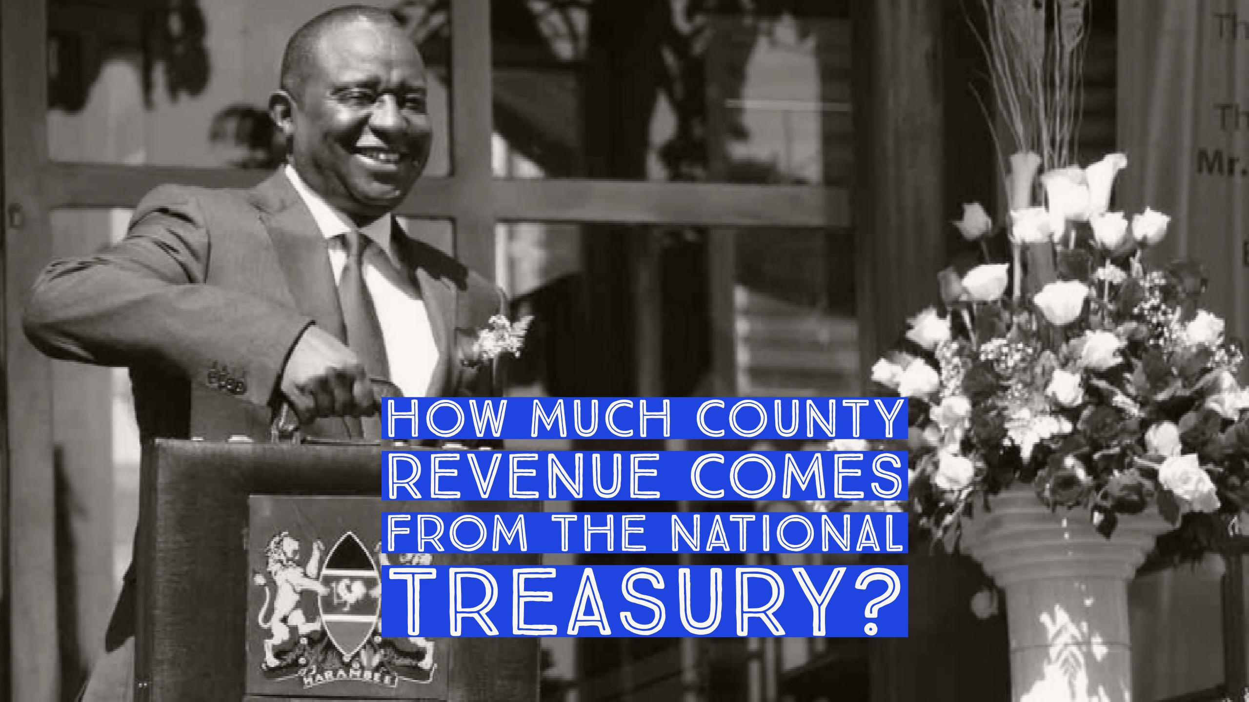 How Much County Revenue Actually Comes From The National