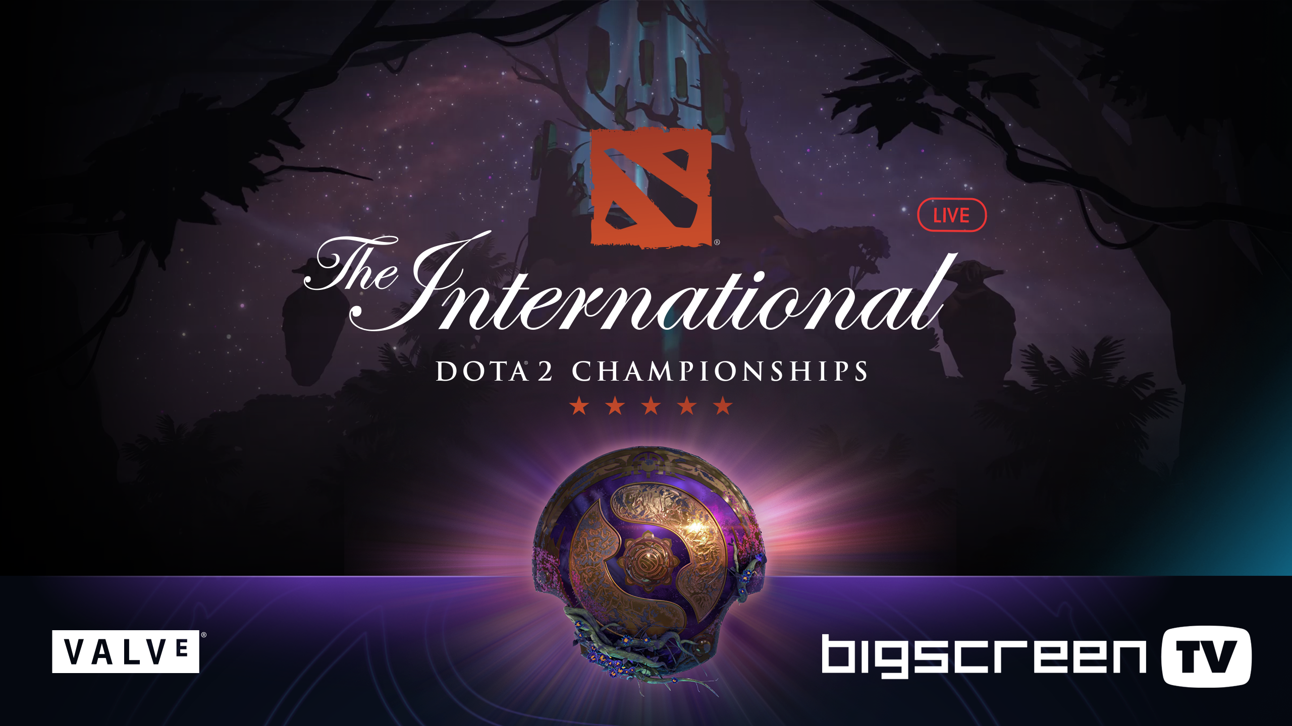 Watch The International 2019 DOTA 2 Tournament In Bigscreen