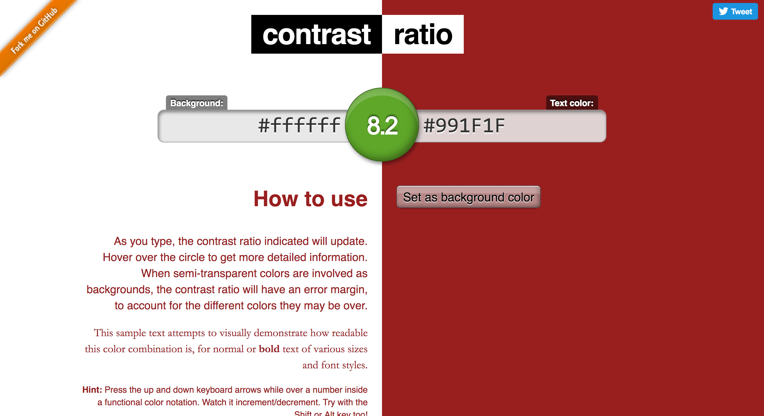 Designing for accessibility, step 1: Color contrast