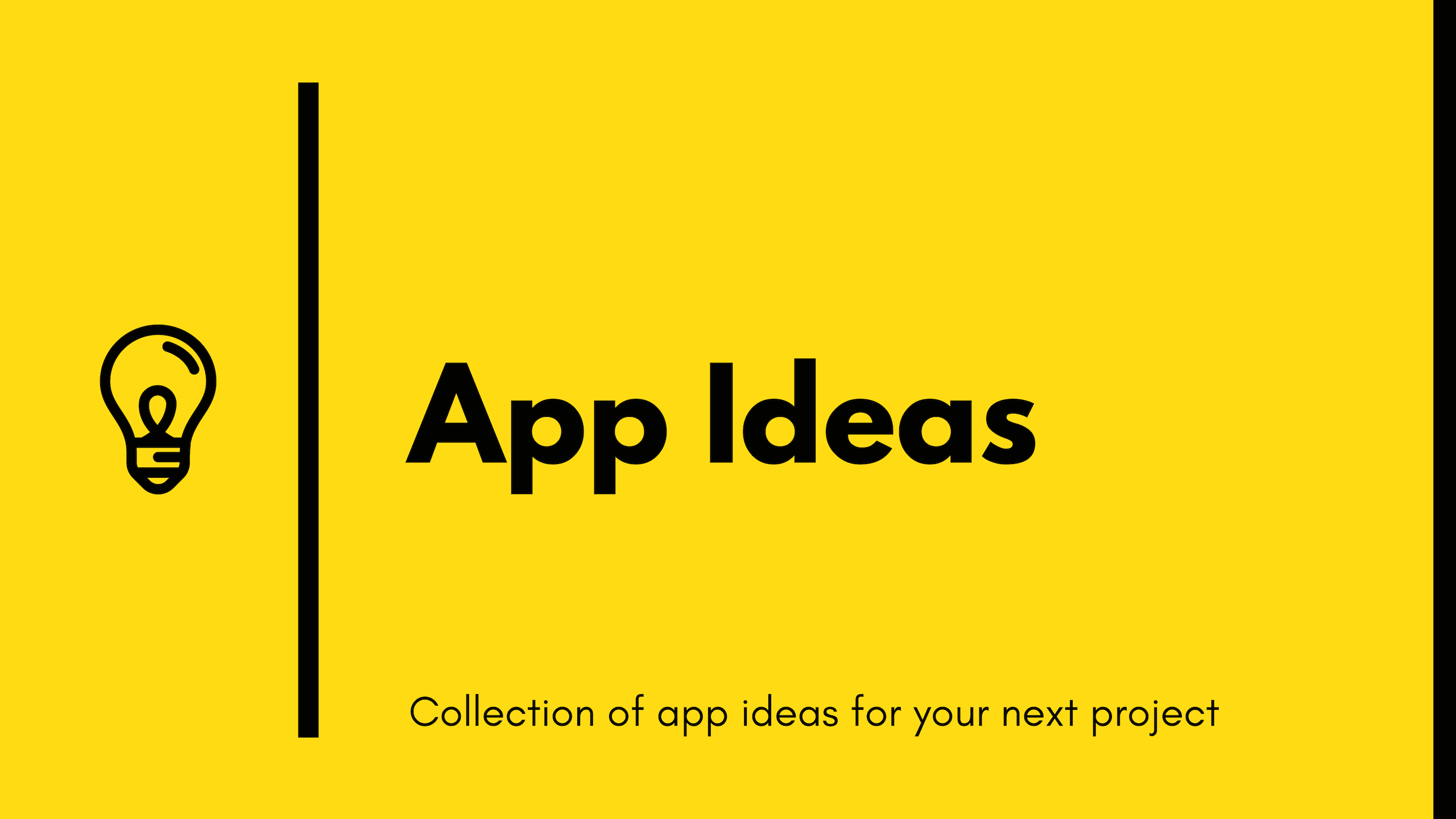 15 App Ideas To Build And Level Up Your Coding Skills By Florin Pop Bits And Pieces