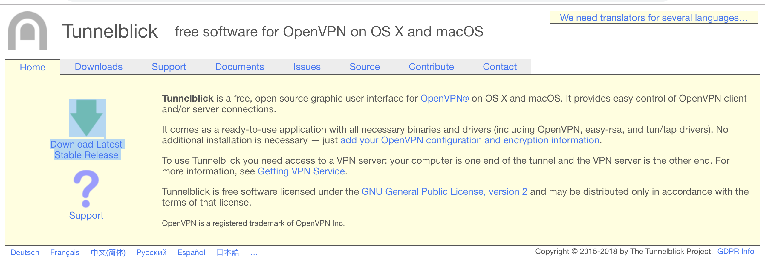 Connect the corporate networks from macOS using Sophos VPN