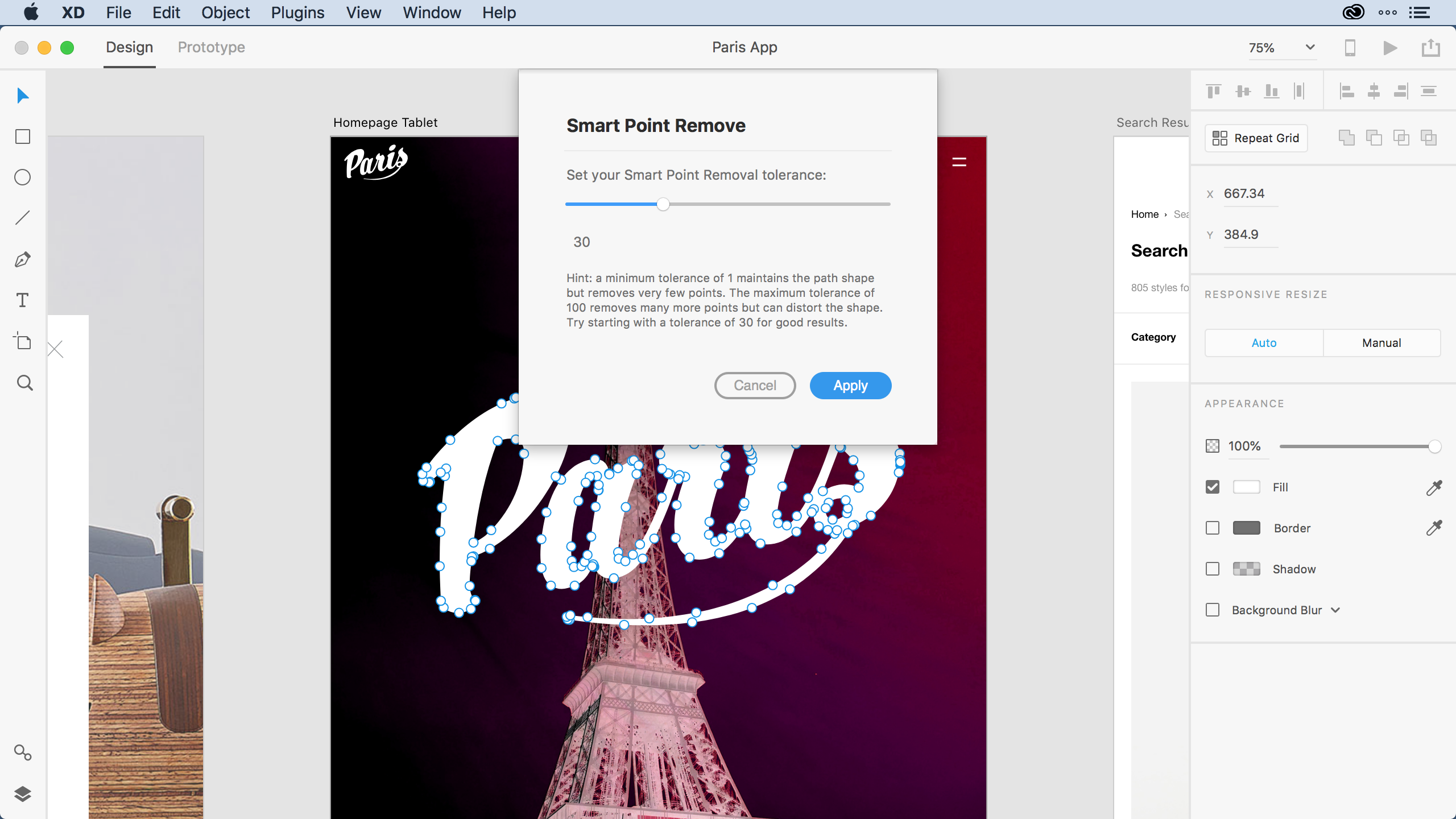 Building a Smart Points Removal Plugin For Adobe XD Using