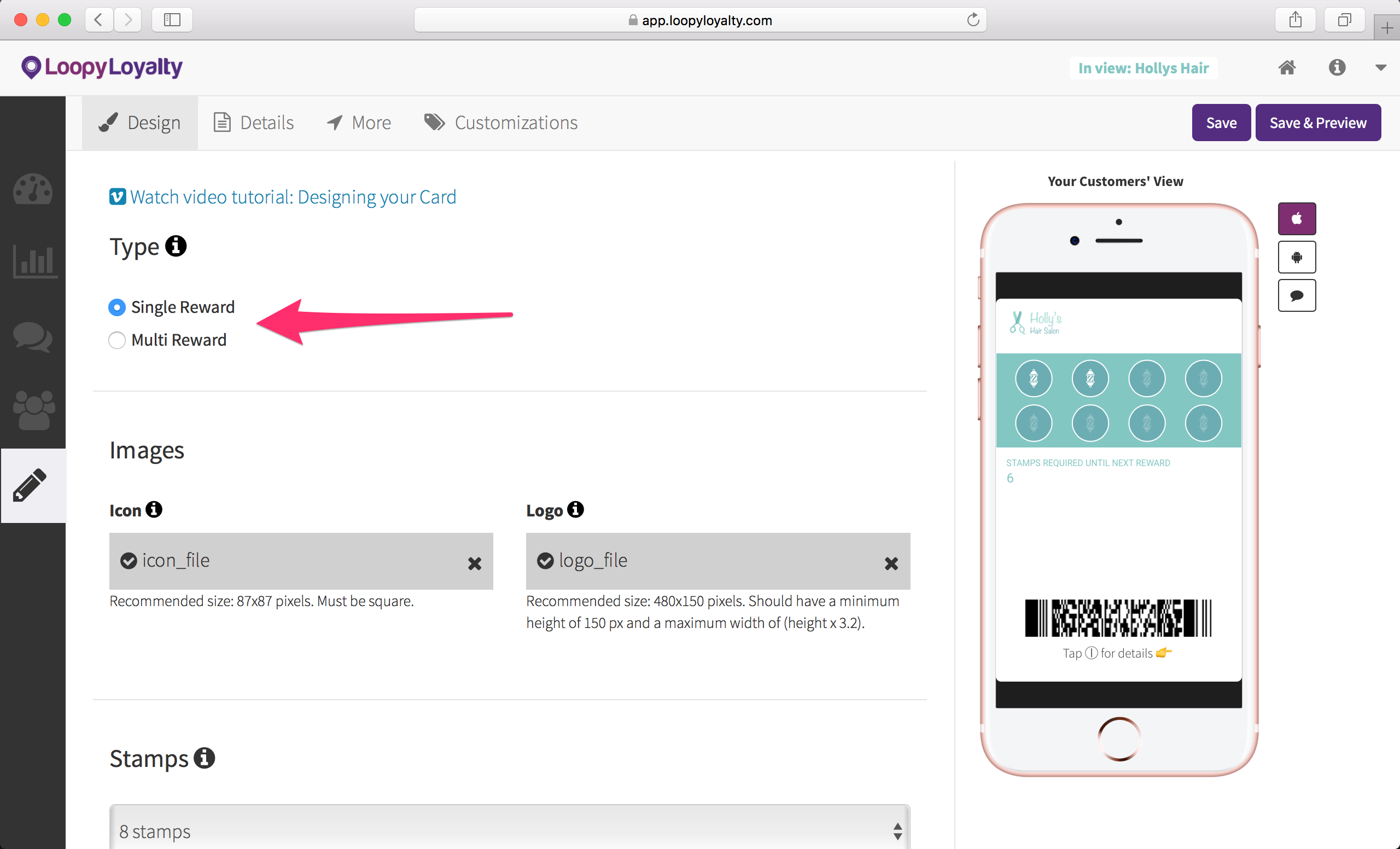 How to Create Digital Punch Cards for your Hair Salon in under 20