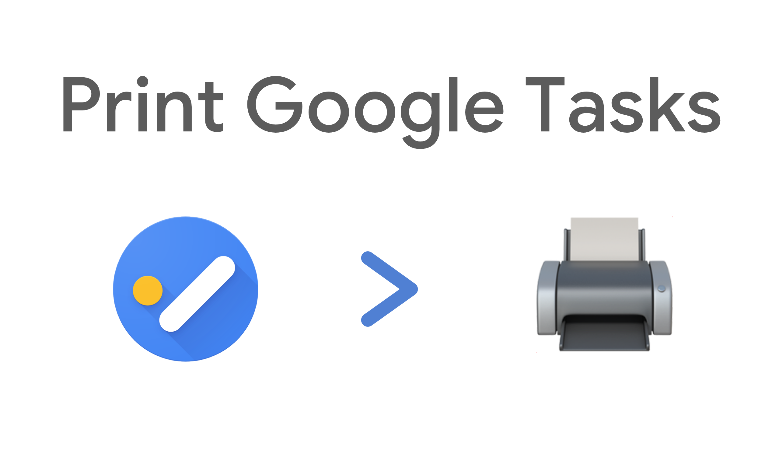 How To Export And Print My Google Tasks Lists By Mathias Gilson Medium