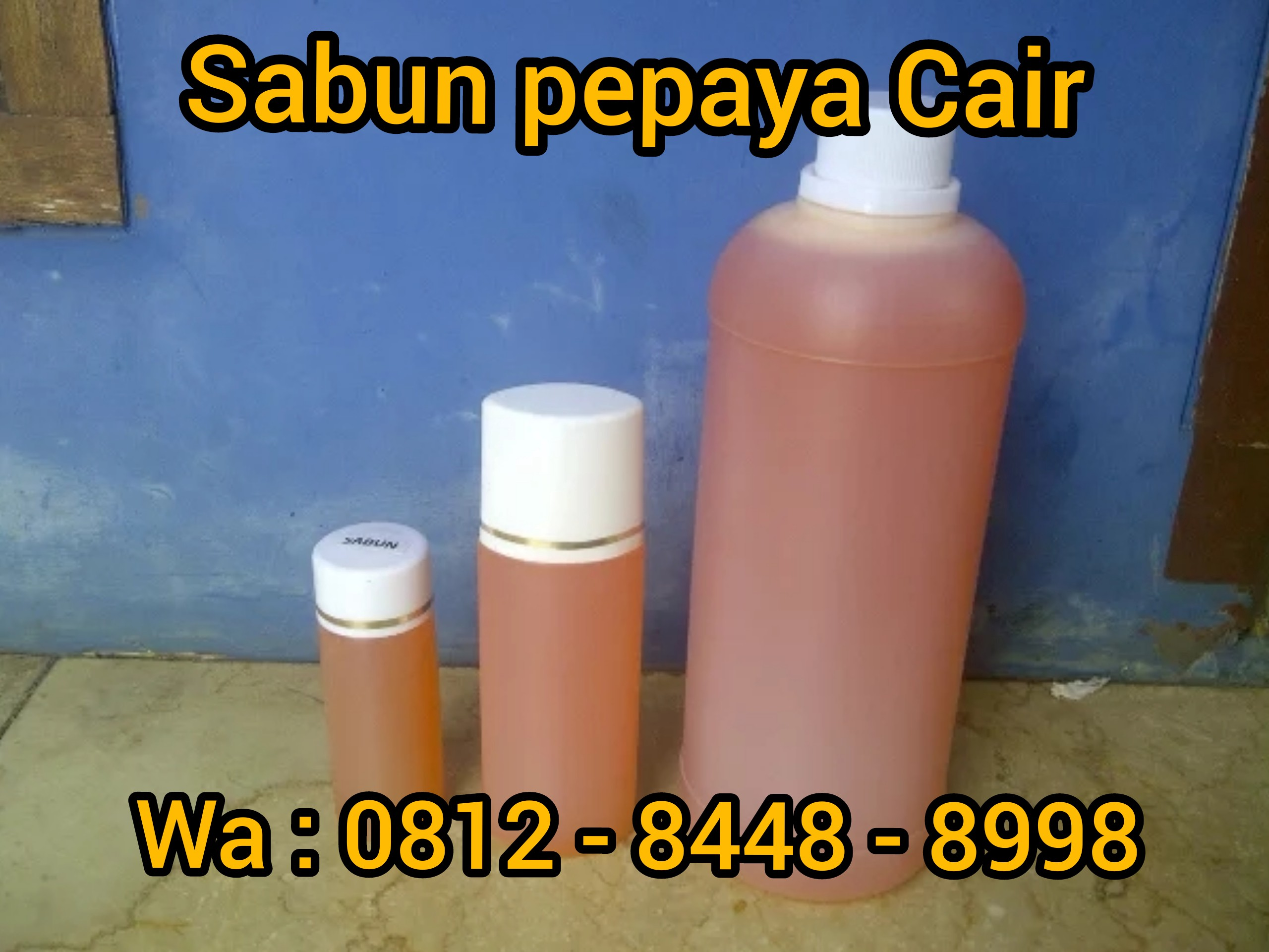 Wa Call Tsel 0812 8448 8998 Jual Sabun Cair Pepaya Di Makassar By Cream Hn Asli Medium