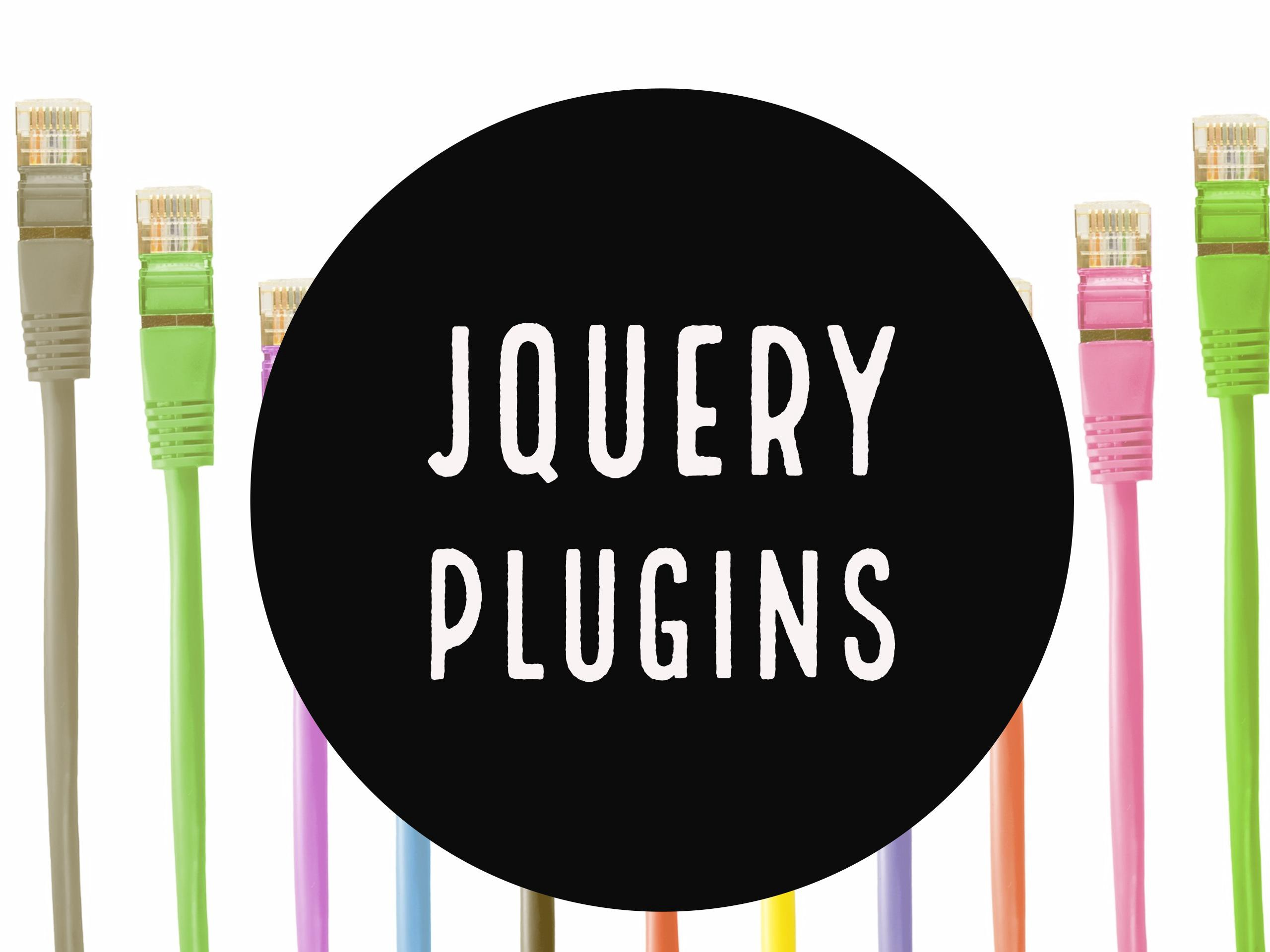 Top 10 jQuery plugins to simplify front-end development