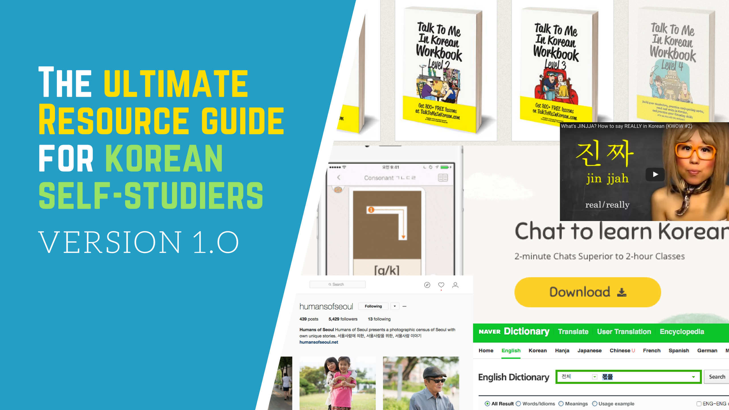 The Ultimate Resource Guide for Korean Self-Studiers