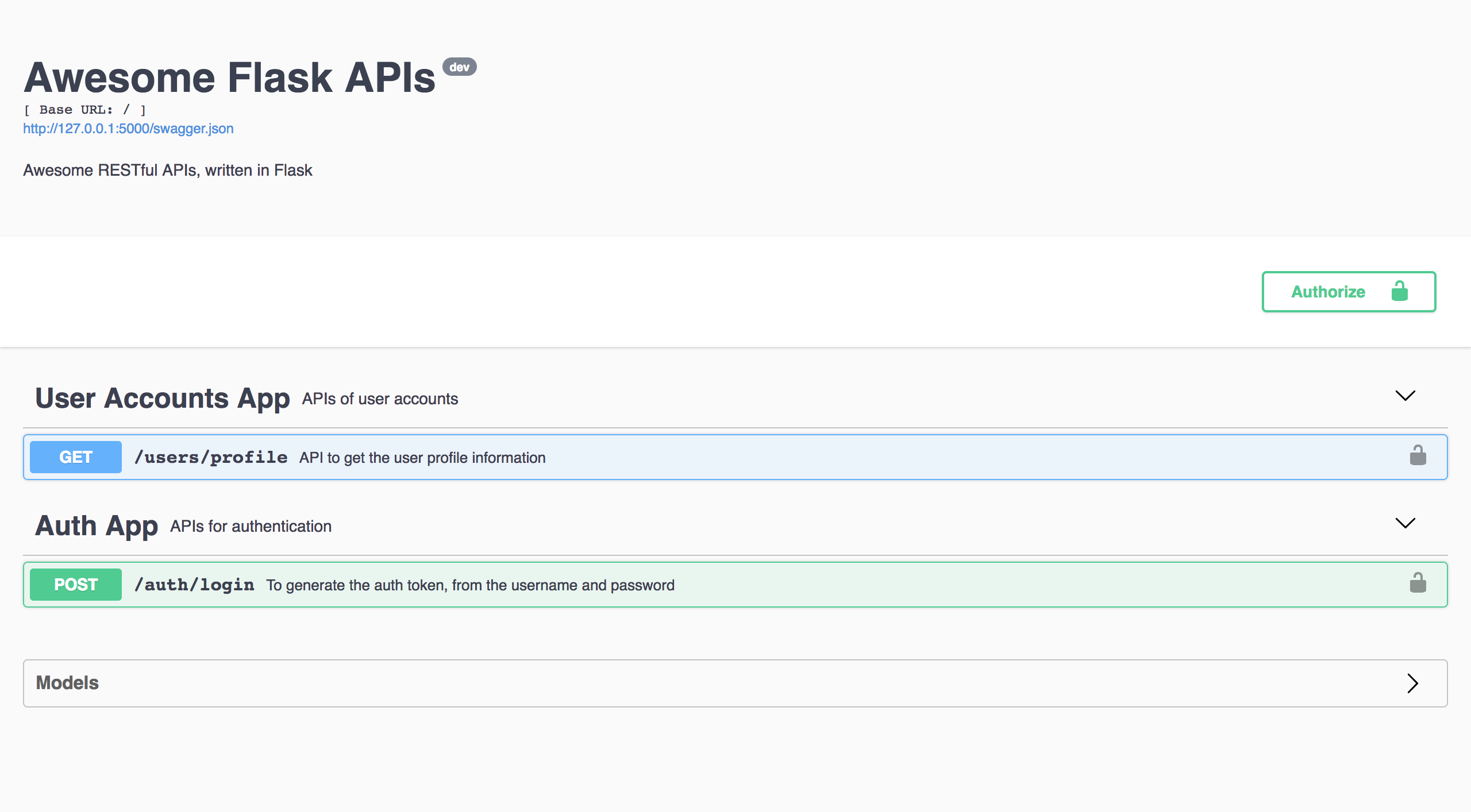 Write maintainable RESTful APIs with Flask — ditch postman