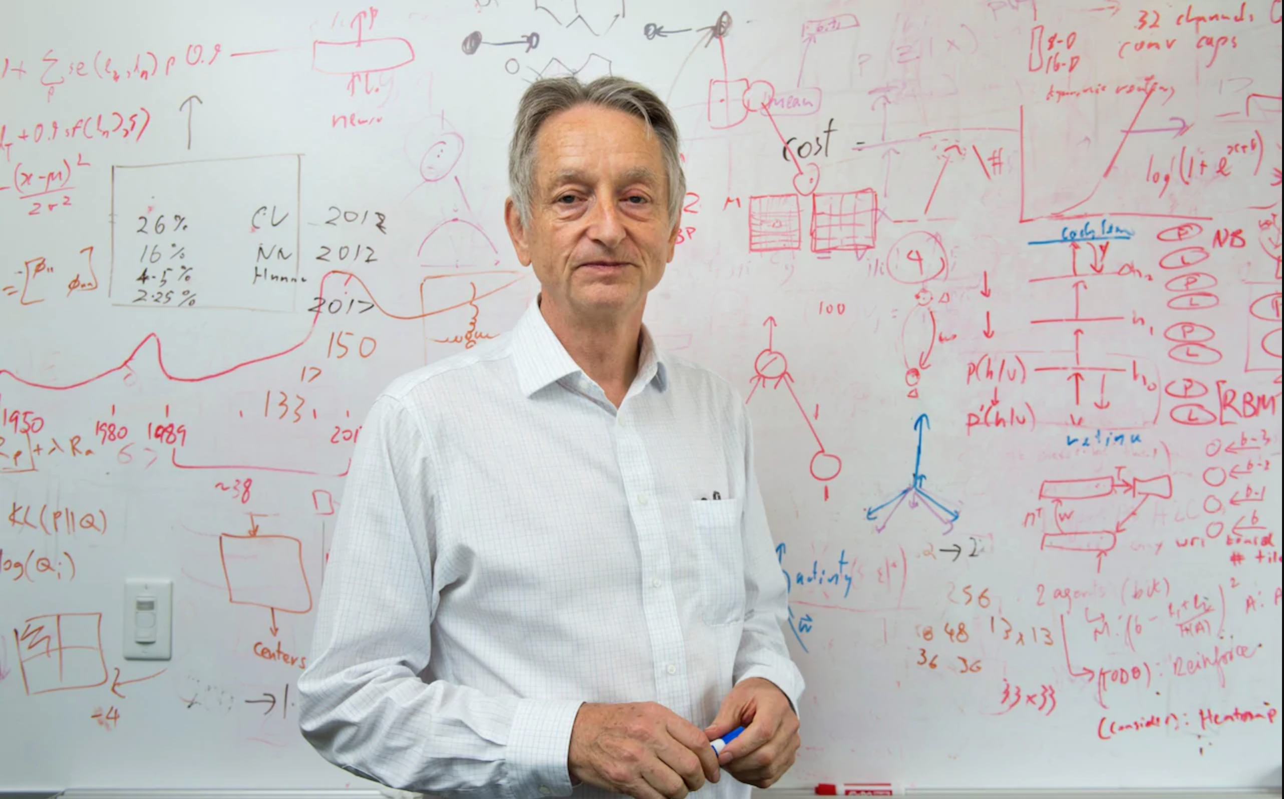The Godfather of Deep Learning. Geoffrey Hinton is one of the geniuses… |  by Vin Busquet | Medium