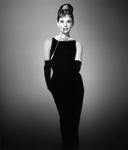 Coco Chanel's Little Black Dress worn by Audrey Hepburn