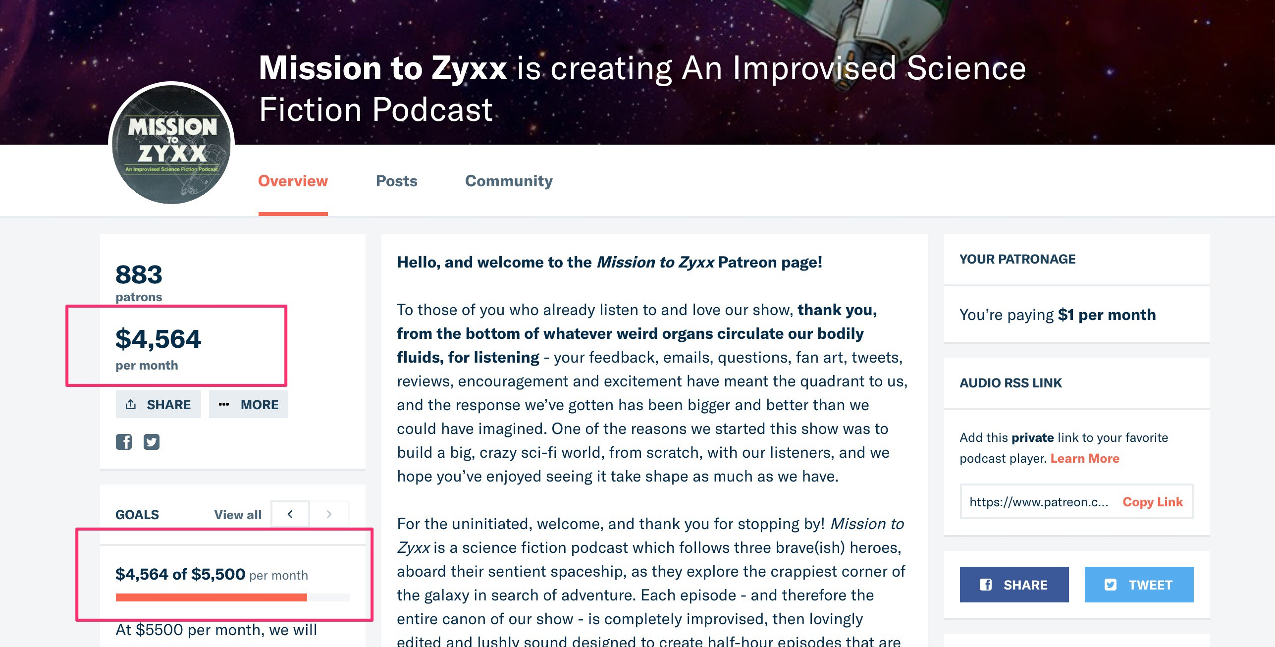 Patreon — Setting you and your fans up for success, Part Zero