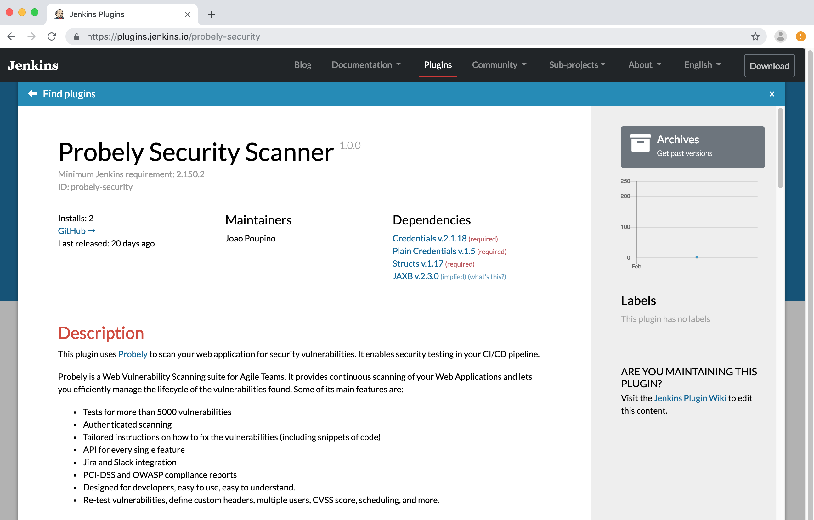 How to configure Jenkins to integrate security into CI/CD