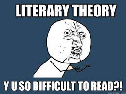 Image result for literary theories memes