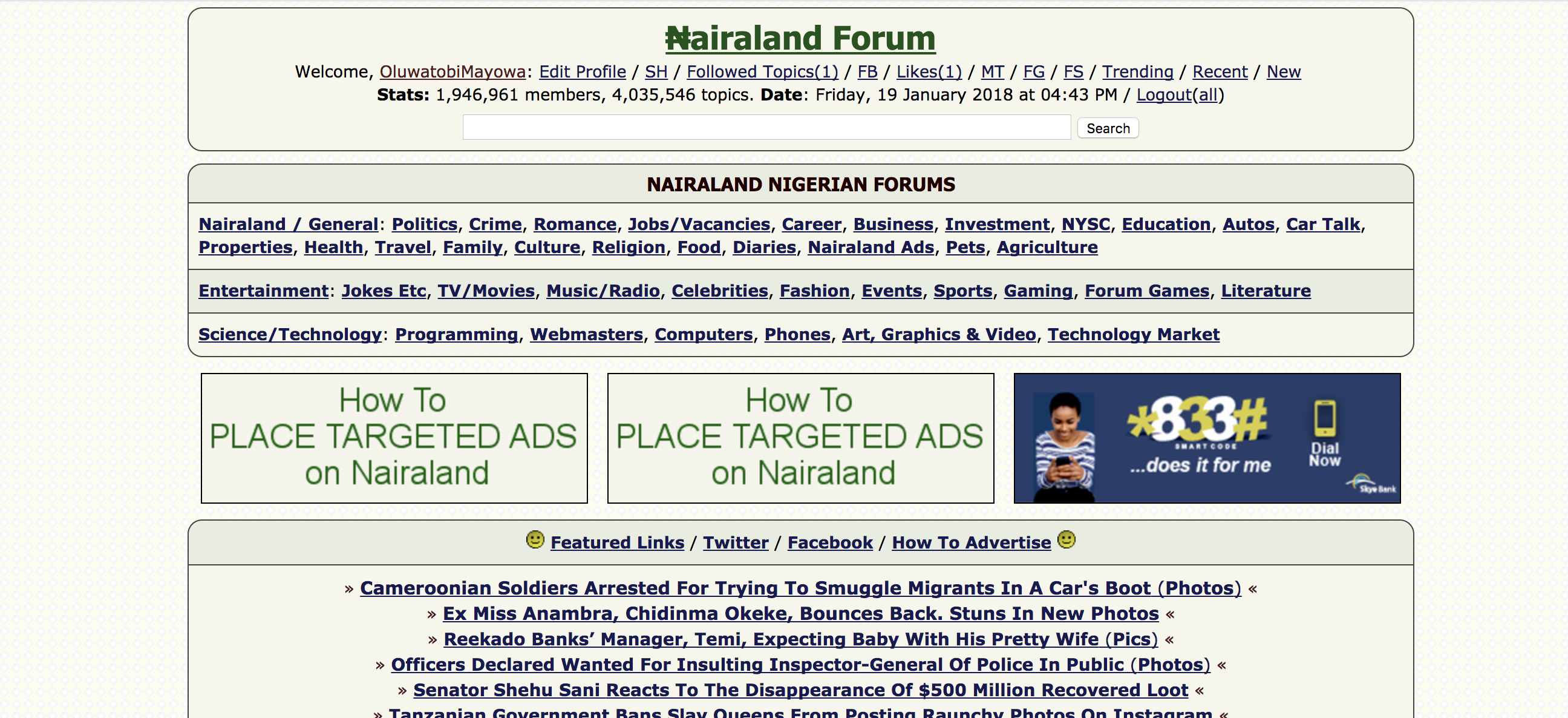 What is the Future of Nairaland's UX? - Oluwatobi