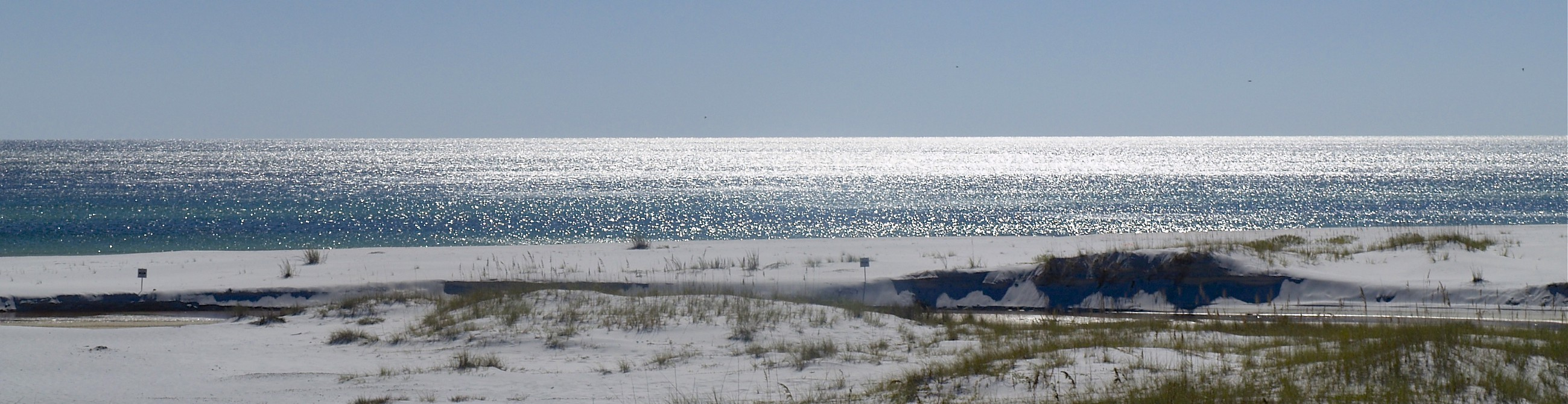 The Florida Gulf Coast in October