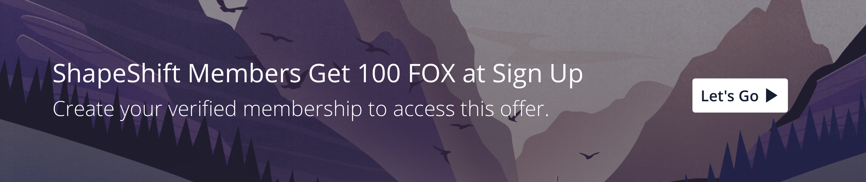 Create a verified account & get 100 FOX Tokens to start trading without commission, spread, or trading fees.