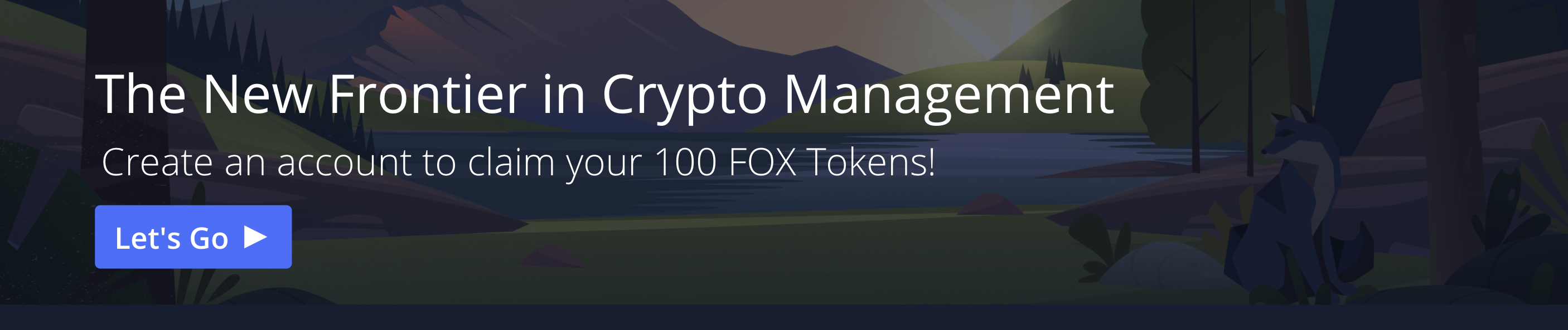 The new frontier in crypto. Create a ShapeShift account to claim your 100 fox tokens at ShapeShift.com