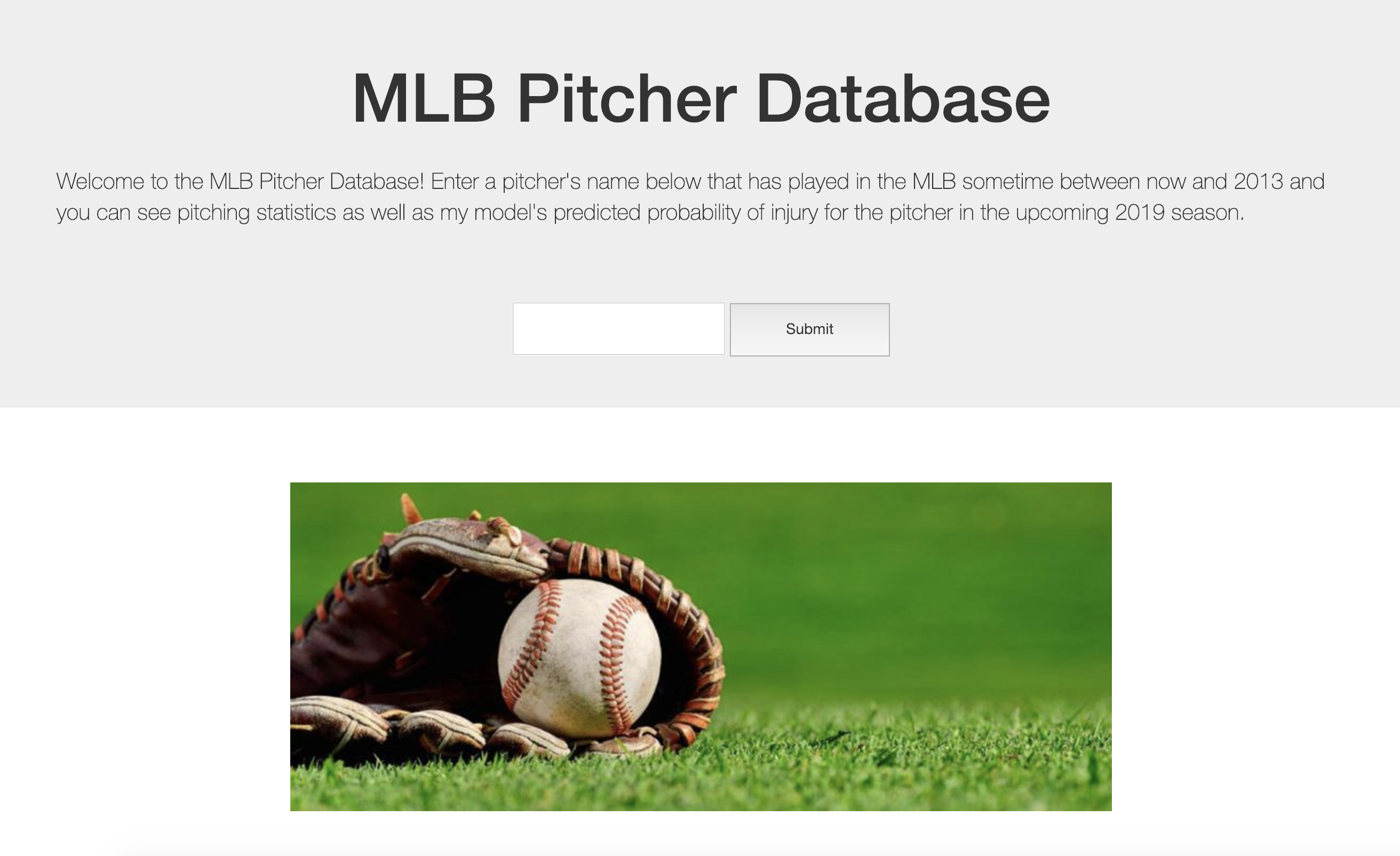 Predicting Injuries in MLB Pitchers - Towards Data Science