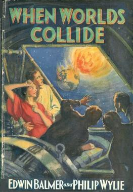 When Worlds Collide, vintage paperback cover, courtesy Wikipedia