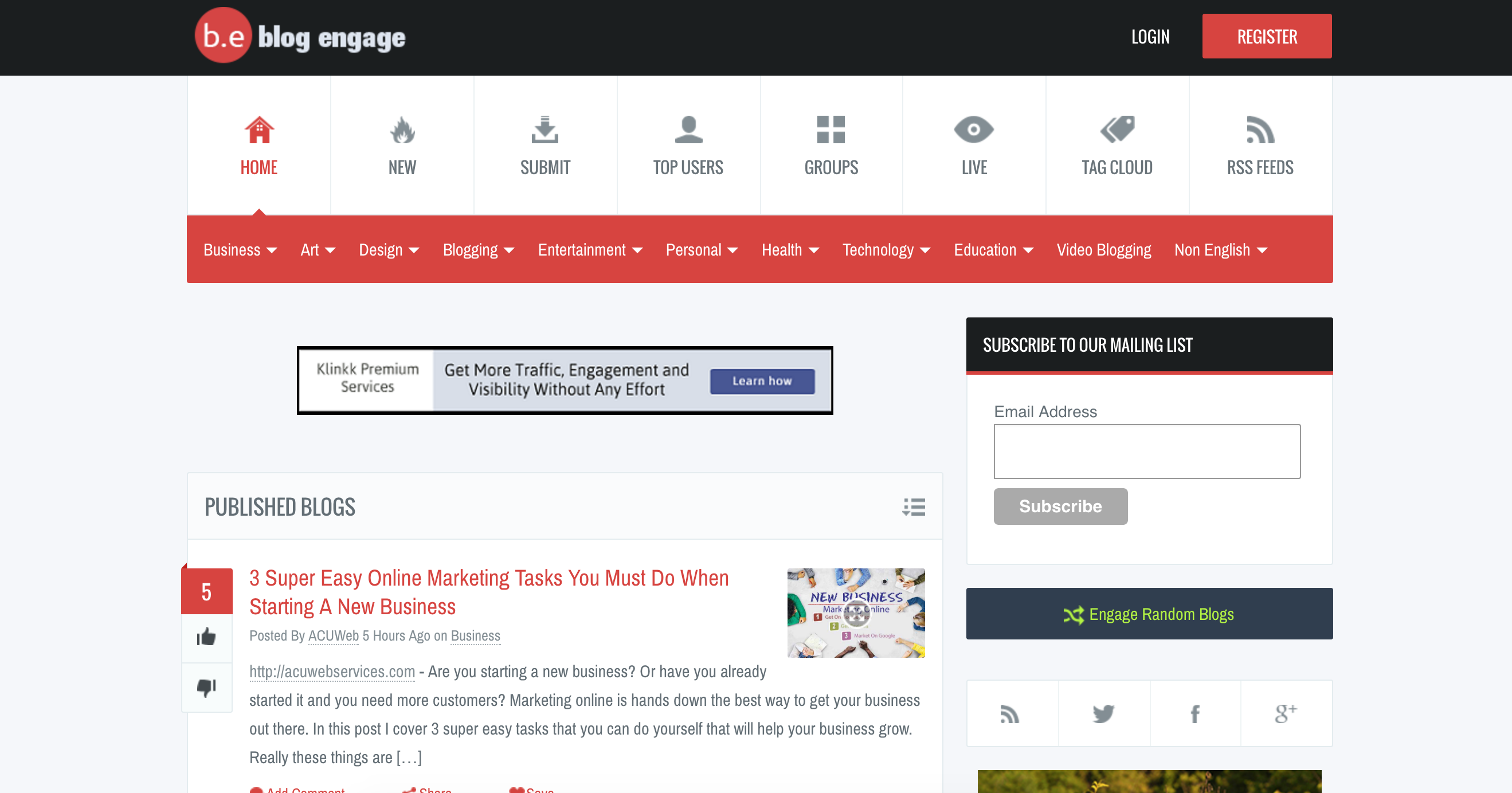 54 Guest Posting Sites You Should Submit To For More Organic