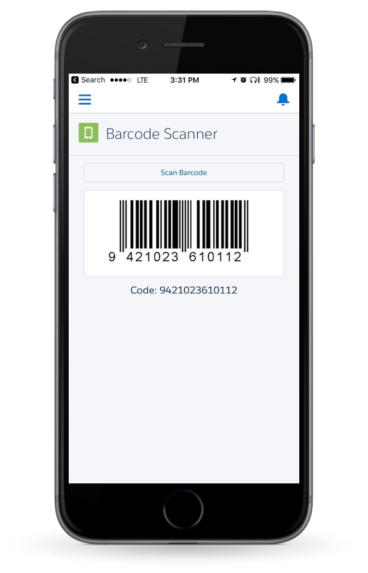 Lightning Component to scan barcodes using Salesforce1