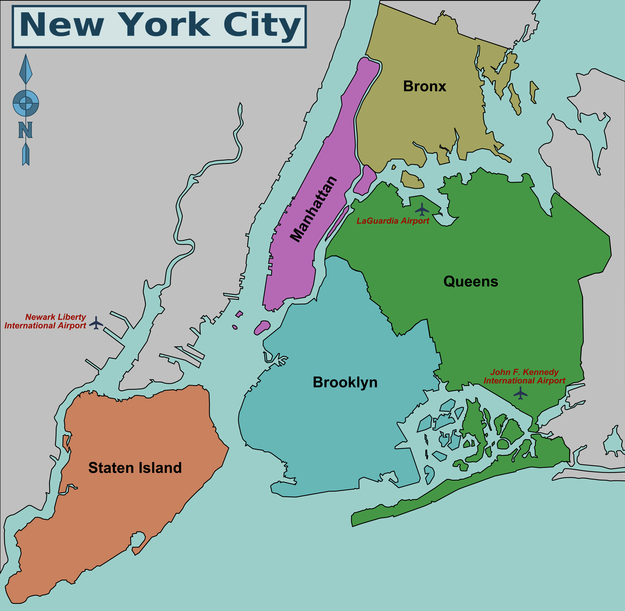 map of brooklyn and queens Great Runs In New York City S Boroughs By Karin Emanuelson map of brooklyn and queens