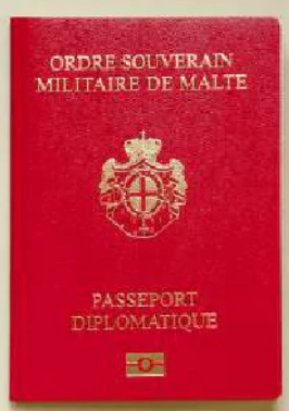 Red Sovereign Military Order of Malta Passport