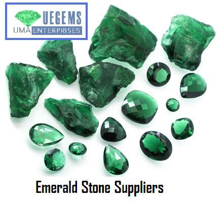 Emerald Stone Suppliers Ue Gems Medium
