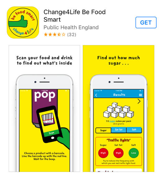 Our Change4Life/Be Food Smart App Review - Kids About Jersey