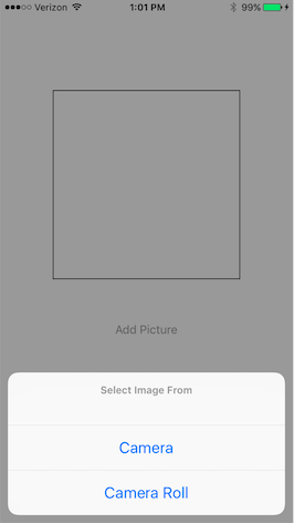 Accessing Camera and Photo Library in Swift 3 - TJ Carney