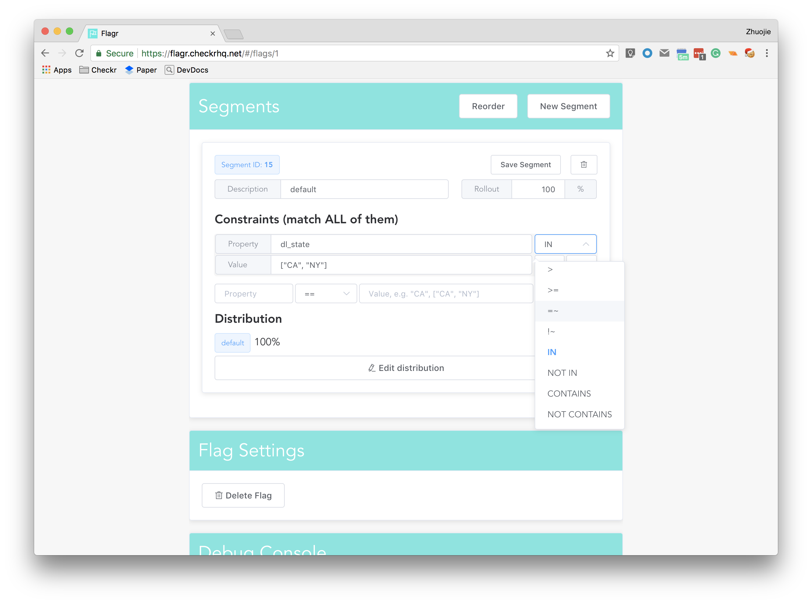 Introducing Flagr: A robust, high-performance service for
