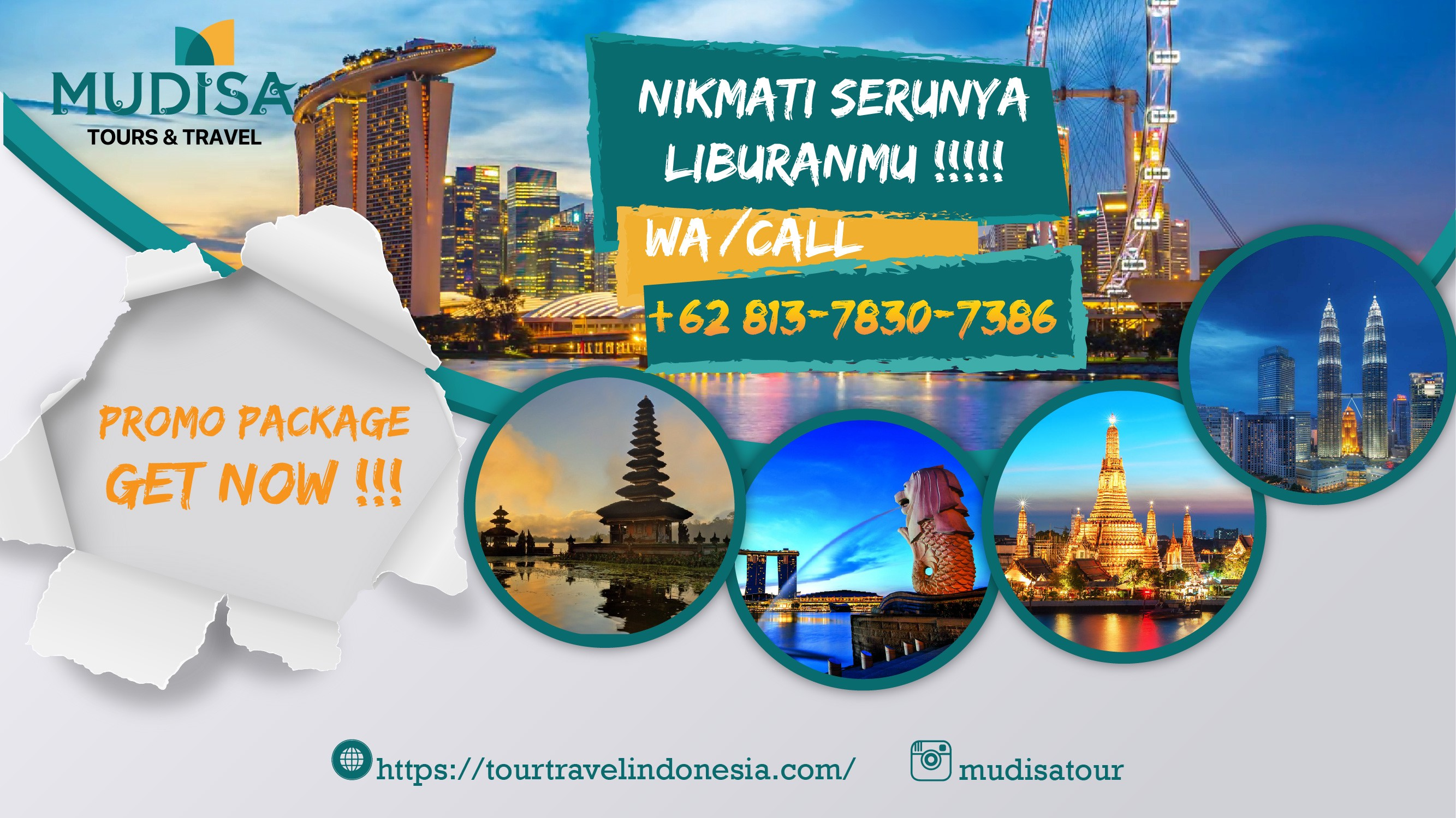 Paket Tour Travel Singapore di Surabaya, 9–9–9